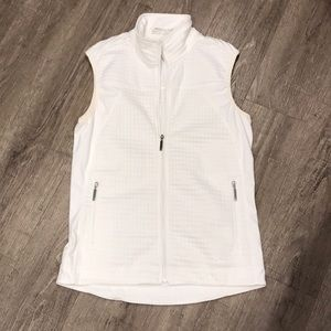 White Nike Golf  Fit Dry White Vest Size XS
